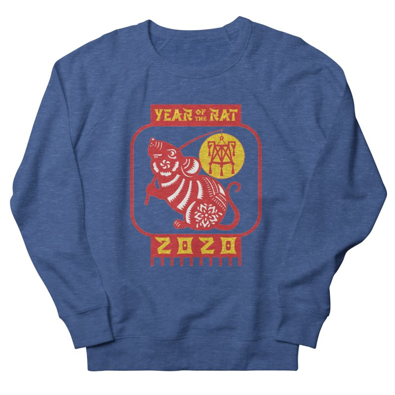 Chinese New Year - Year of the Rat Women's French Terry Sweatshirt by Moon Joggers's Artist Shop
