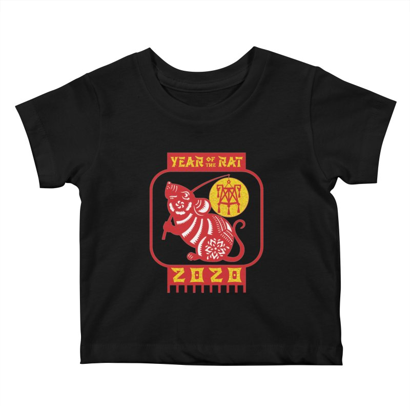 Chinese New Year - Year of the Rat Kids Baby T-Shirt by Moon Joggers's Artist Shop
