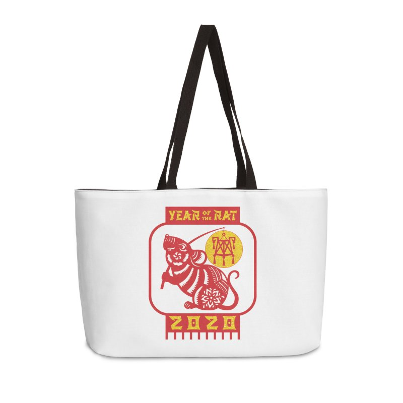 Chinese New Year - Year of the Rat Accessories Weekender Bag Bag by Moon Joggers's Artist Shop