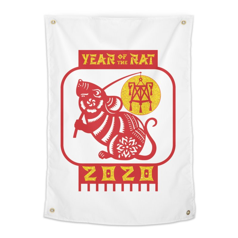 Chinese New Year - Year of the Rat Home Tapestry by Moon Joggers's Artist Shop
