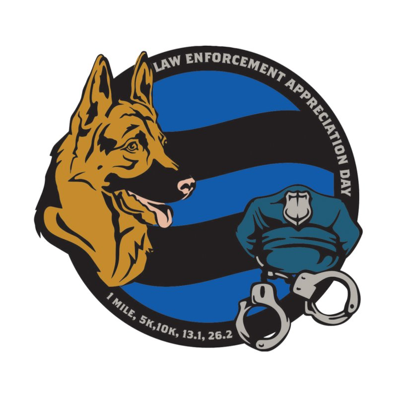 Law Enforcement Appreciation by Moon Joggers's Artist Shop