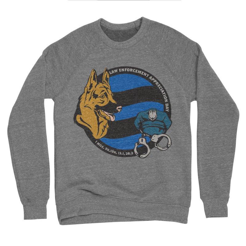 Law Enforcement Appreciation Men's Sponge Fleece Sweatshirt by Moon Joggers's Artist Shop