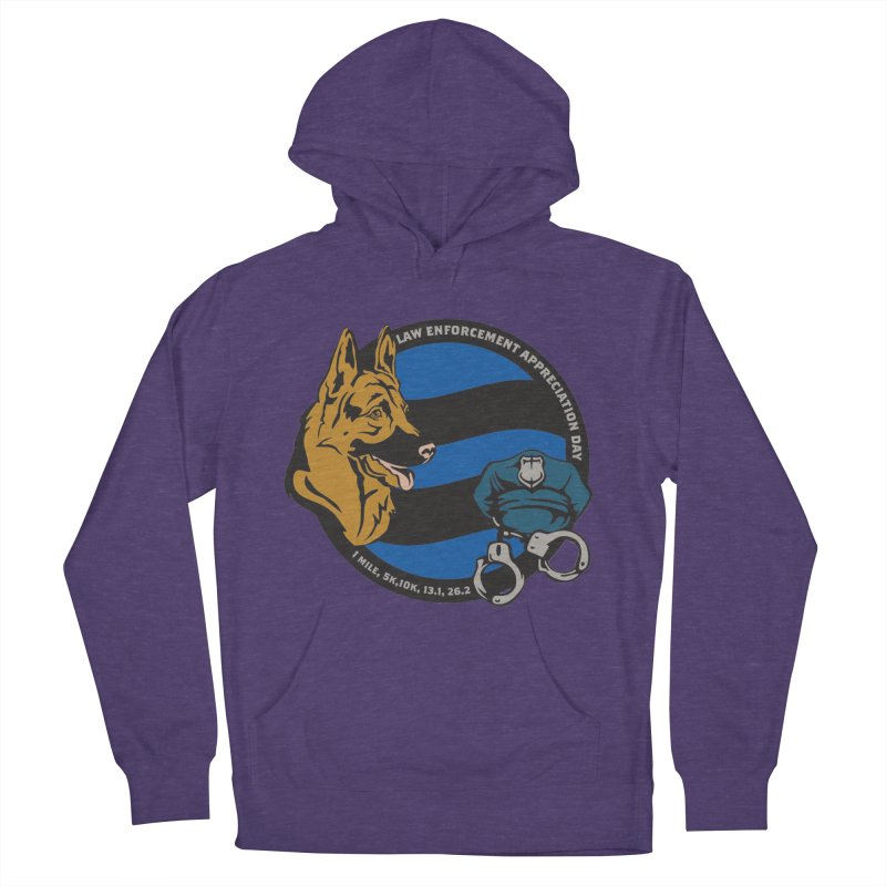 Law Enforcement Appreciation Women's French Terry Pullover Hoody by Moon Joggers's Artist Shop
