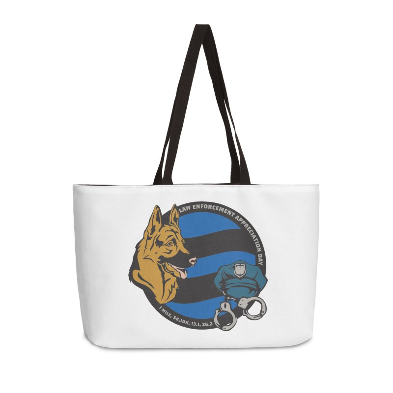 Law Enforcement Appreciation Accessories Weekender Bag Bag by Moon Joggers's Artist Shop