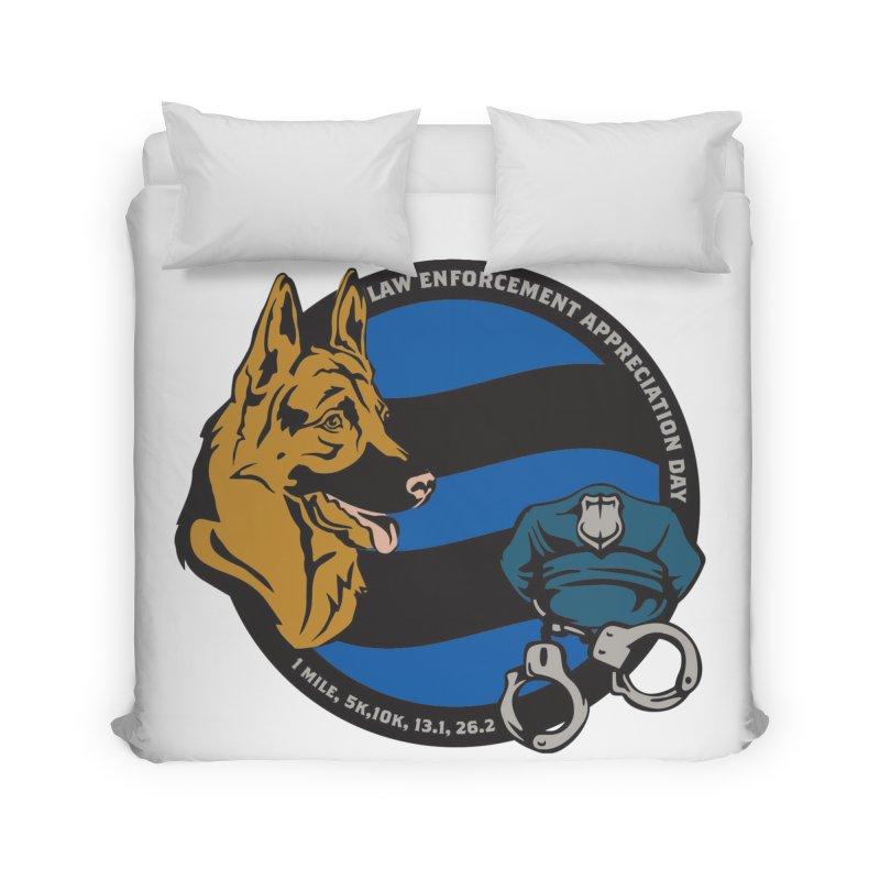 Law Enforcement Appreciation Home Duvet by Moon Joggers's Artist Shop