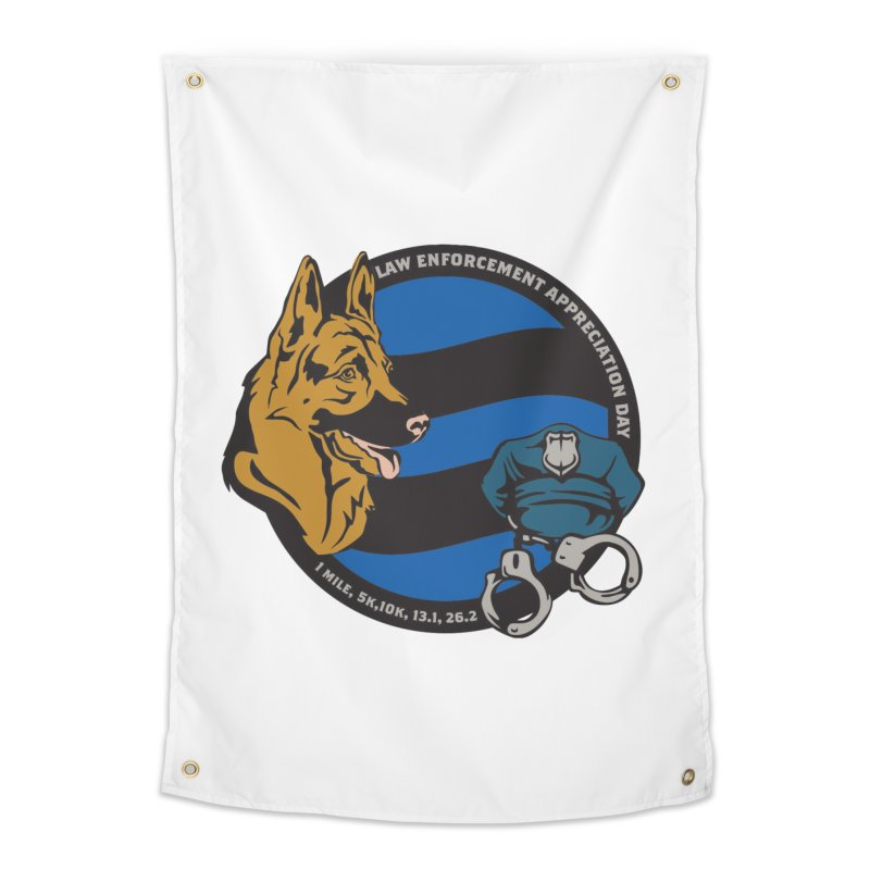 Law Enforcement Appreciation Home Tapestry by Moon Joggers's Artist Shop