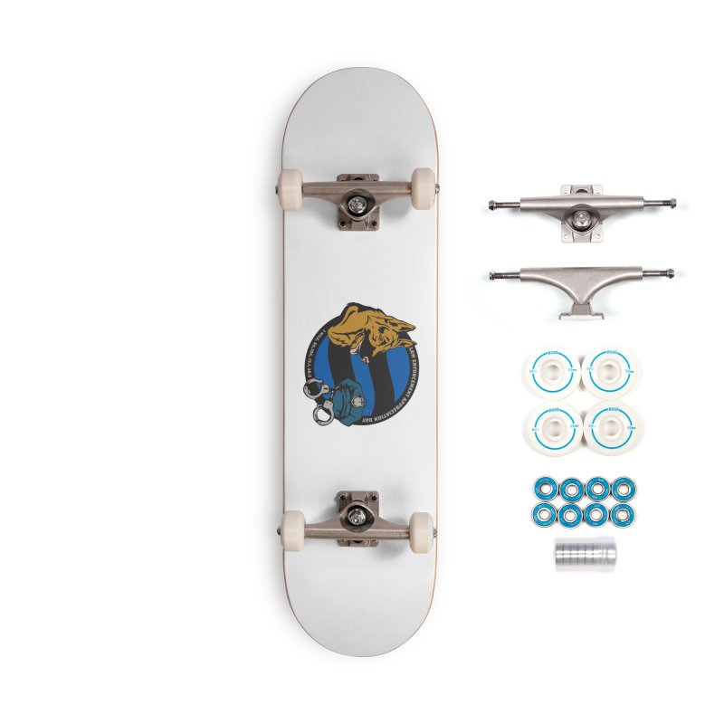 Law Enforcement Appreciation Accessories Complete - Basic Skateboard by Moon Joggers's Artist Shop