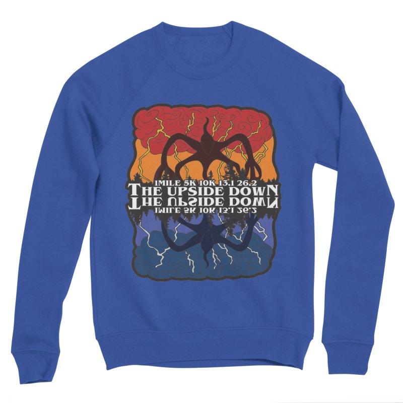 The Upside Down Men's Sponge Fleece Sweatshirt by Moon Joggers's Artist Shop