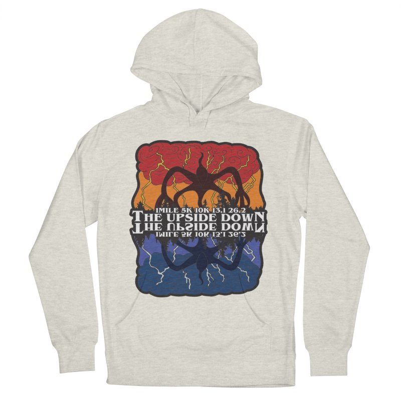 The Upside Down Women's French Terry Pullover Hoody by Moon Joggers's Artist Shop