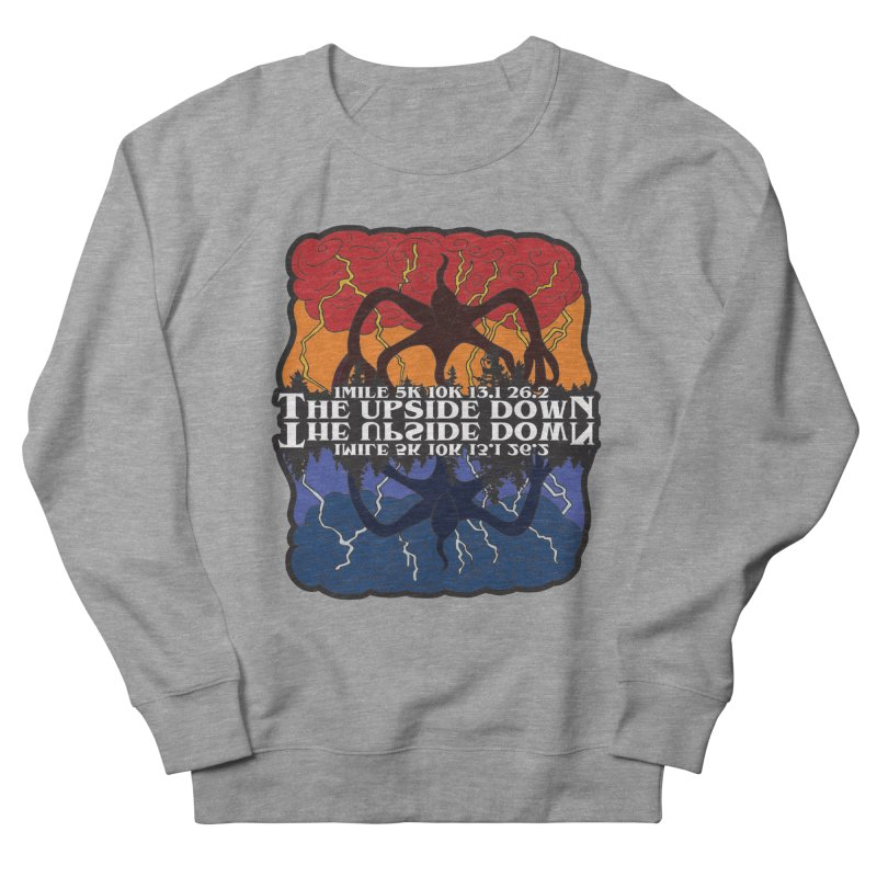 The Upside Down Women's French Terry Sweatshirt by Moon Joggers's Artist Shop