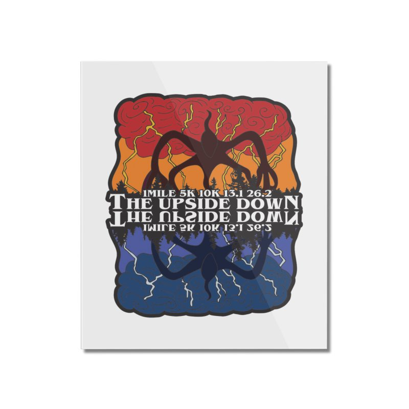 The Upside Down Home Mounted Acrylic Print by Moon Joggers's Artist Shop