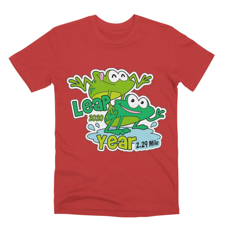 Leap Year 2020 Men's T-Shirt by Moon Joggers's Artist Shop