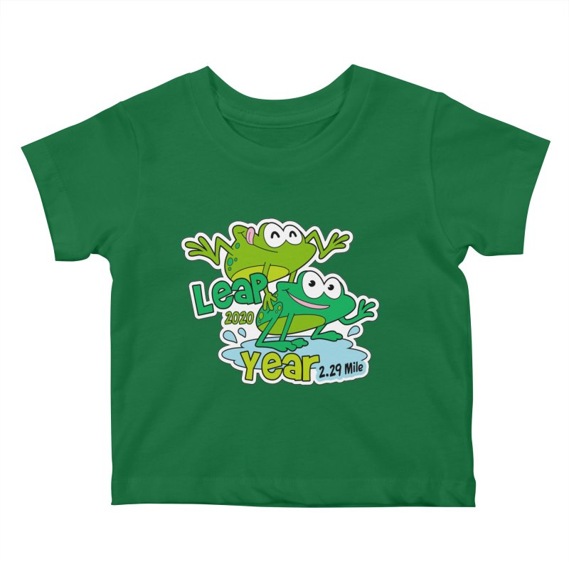 Leap Year 2020 Kids Baby T-Shirt by Moon Joggers's Artist Shop