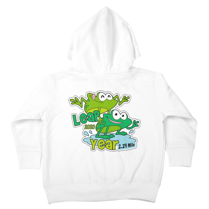 Leap Year 2020 Kids Toddler Zip-Up Hoody by Moon Joggers's Artist Shop