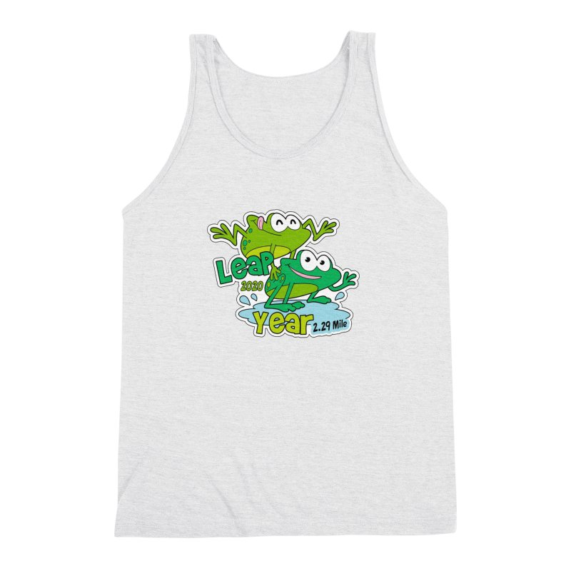 Leap Year 2020 Men's Triblend Tank by Moon Joggers's Artist Shop