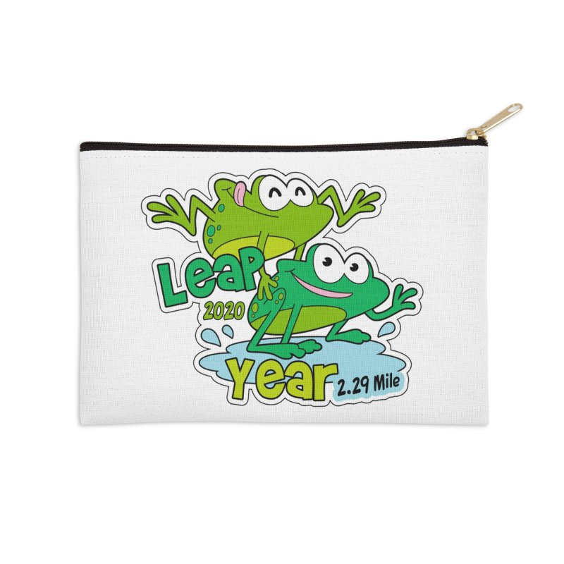 Leap Year 2020 Accessories Zip Pouch by Moon Joggers's Artist Shop