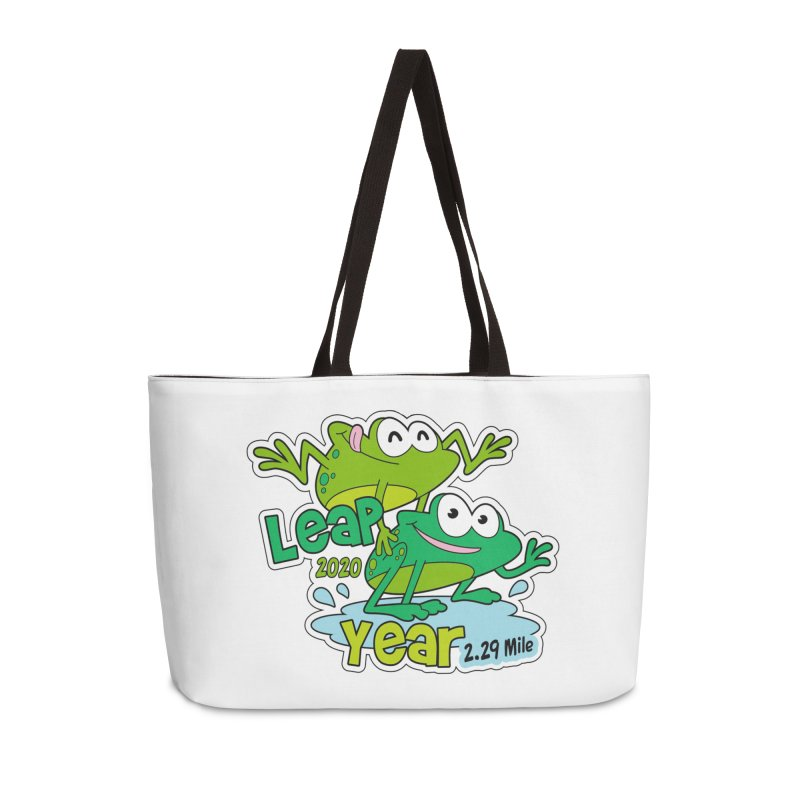 Leap Year 2020 Accessories Weekender Bag Bag by Moon Joggers's Artist Shop