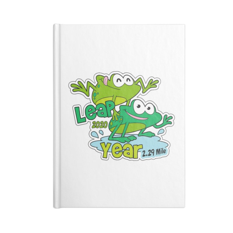 Leap Year 2020 Accessories Lined Journal Notebook by Moon Joggers's Artist Shop