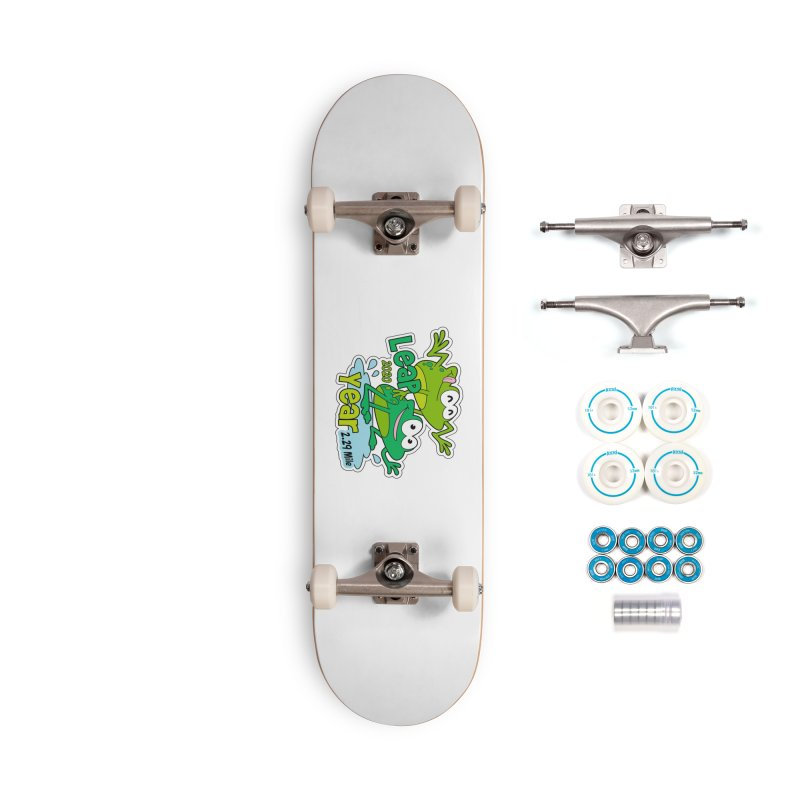 Leap Year 2020 Accessories Complete - Basic Skateboard by Moon Joggers's Artist Shop