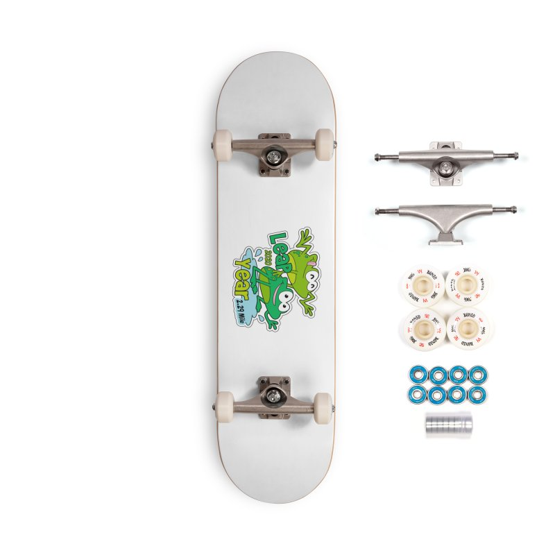 Leap Year 2020 Accessories Complete - Premium Skateboard by Moon Joggers's Artist Shop