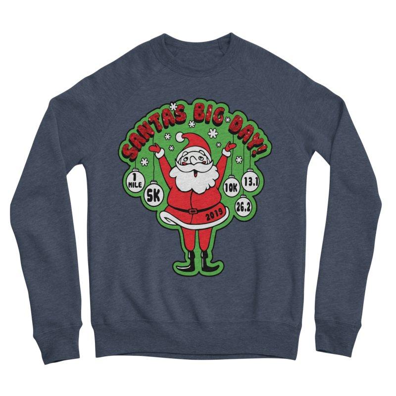 Santa's Big Day! Men's Sponge Fleece Sweatshirt by Moon Joggers's Artist Shop