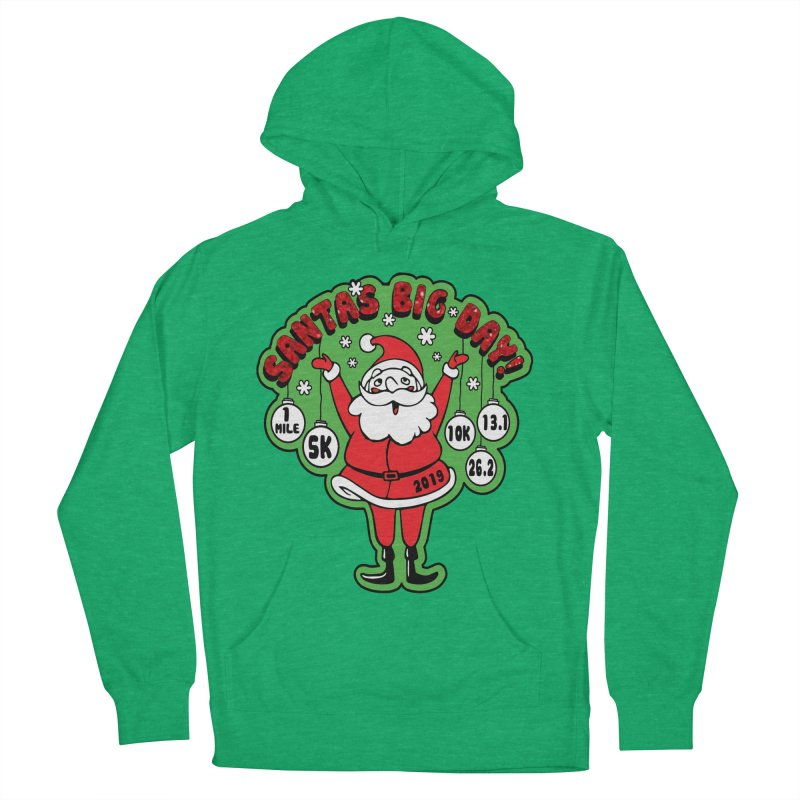 Santa's Big Day! Women's French Terry Pullover Hoody by Moon Joggers's Artist Shop