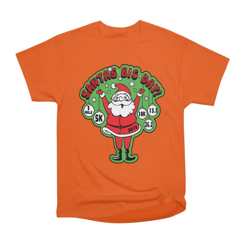 Santa's Big Day! Men's Heavyweight T-Shirt by Moon Joggers's Artist Shop