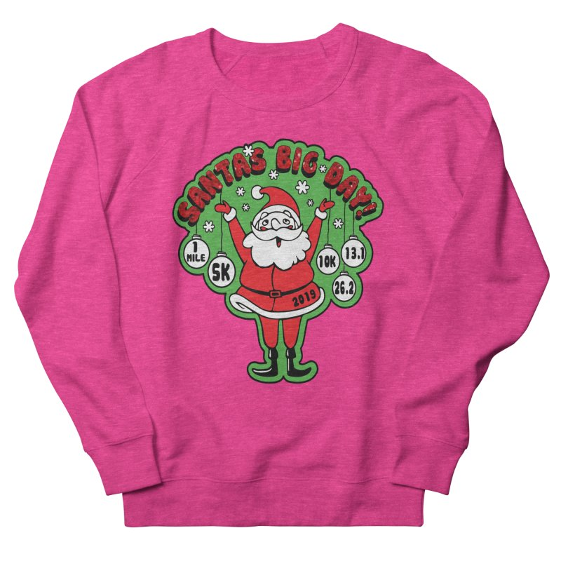 Santa's Big Day! Men's French Terry Sweatshirt by Moon Joggers's Artist Shop