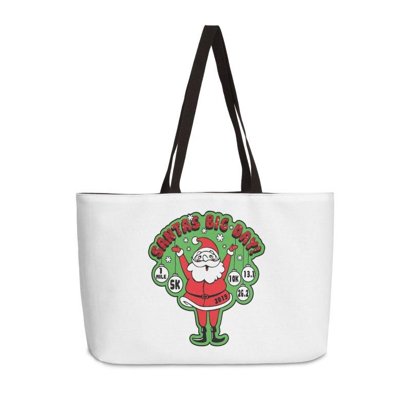 Santa's Big Day! Accessories Weekender Bag Bag by Moon Joggers's Artist Shop