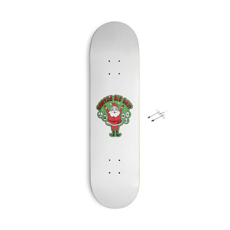 Santa's Big Day! Accessories With Hanging Hardware Skateboard by Moon Joggers's Artist Shop