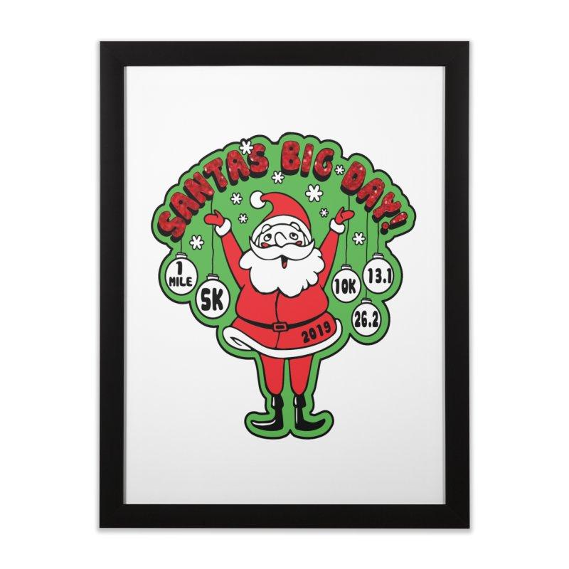 Santa's Big Day! Home Framed Fine Art Print by Moon Joggers's Artist Shop