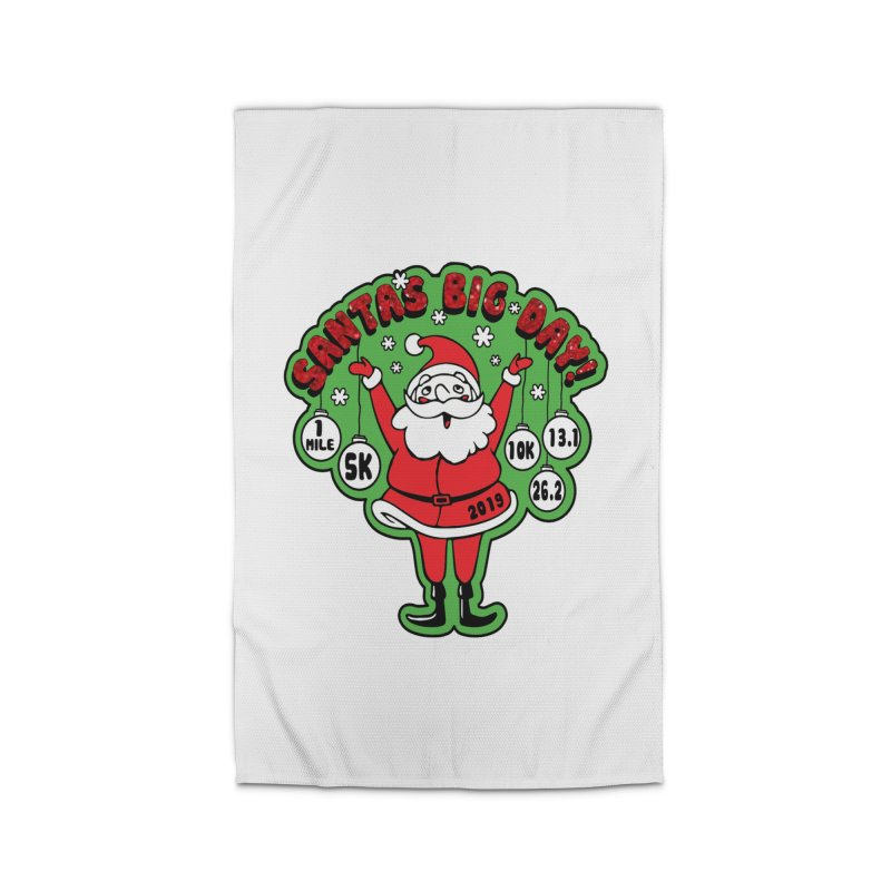 Santa's Big Day! Home Rug by Moon Joggers's Artist Shop