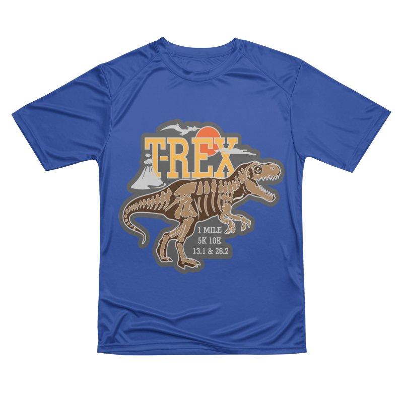 Dinosaurs! T-REX! Men's T-Shirt by Moon Joggers's Artist Shop