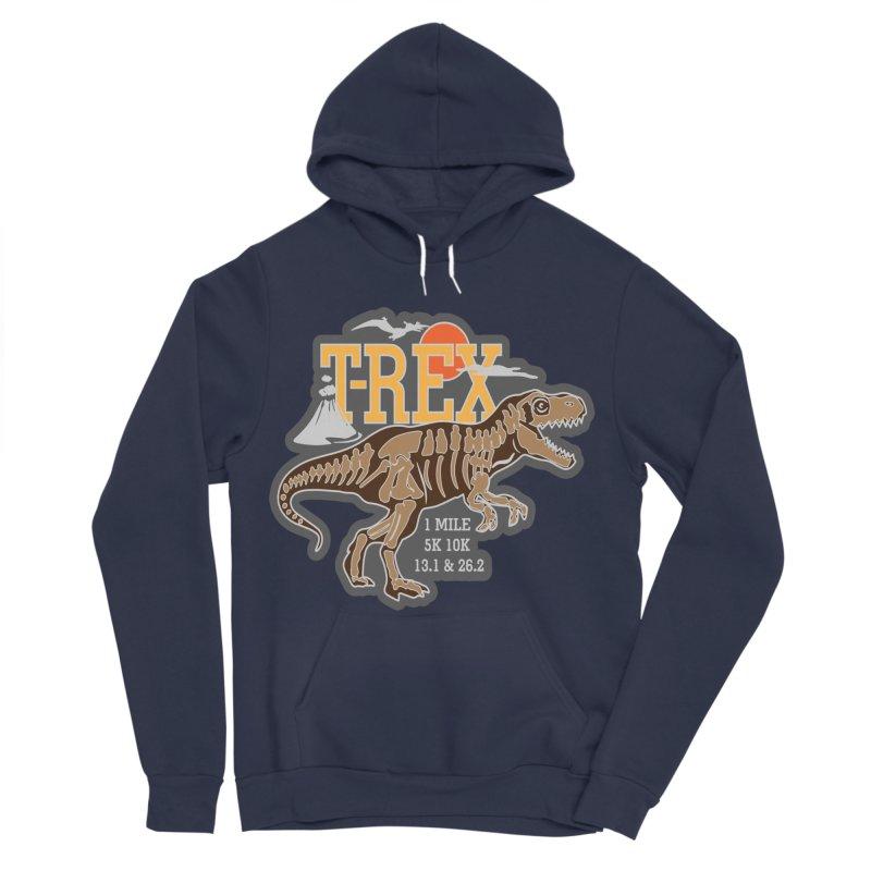 Dinosaurs! T-REX! Women's Sponge Fleece Pullover Hoody by Moon Joggers's Artist Shop