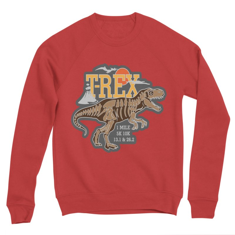 Dinosaurs! T-REX! Men's Sponge Fleece Sweatshirt by Moon Joggers's Artist Shop