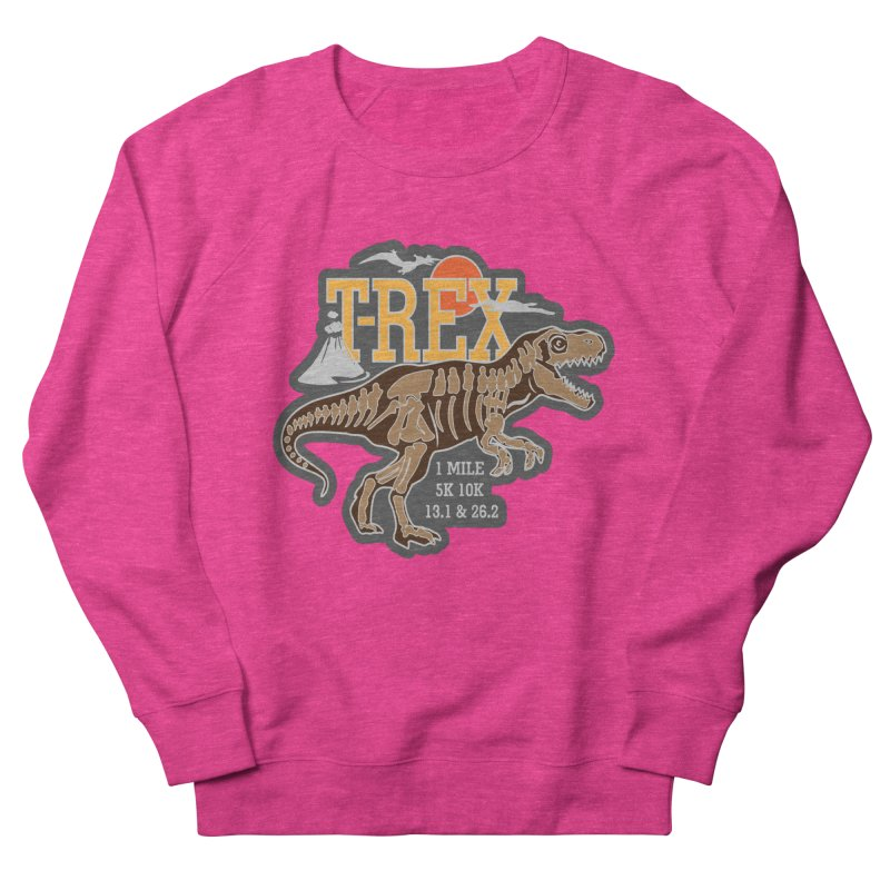 Dinosaurs! T-REX! Women's French Terry Sweatshirt by Moon Joggers's Artist Shop