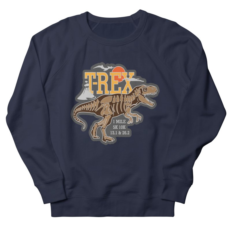 Dinosaurs! T-REX! Men's French Terry Sweatshirt by Moon Joggers's Artist Shop