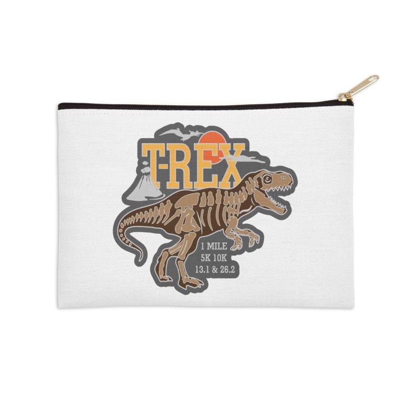 Dinosaurs! T-REX! Accessories Zip Pouch by Moon Joggers's Artist Shop