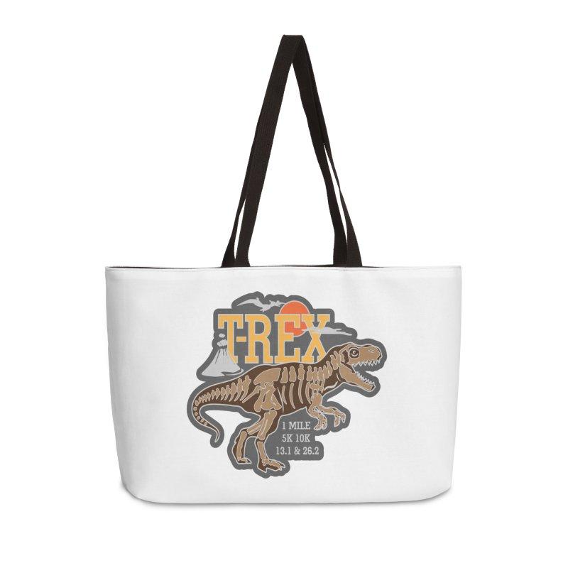 Dinosaurs! T-REX! Accessories Weekender Bag Bag by Moon Joggers's Artist Shop