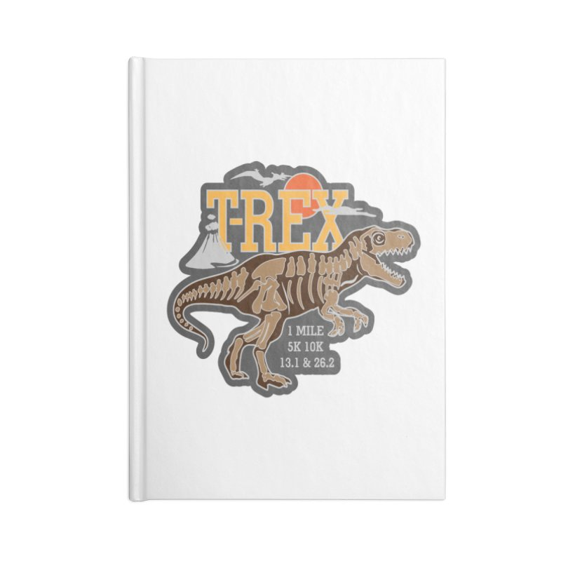 Dinosaurs! T-REX! Accessories Lined Journal Notebook by Moon Joggers's Artist Shop