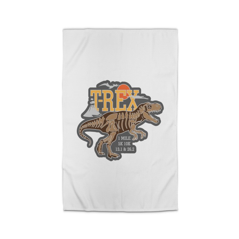 Dinosaurs! T-REX! Home Rug by Moon Joggers's Artist Shop