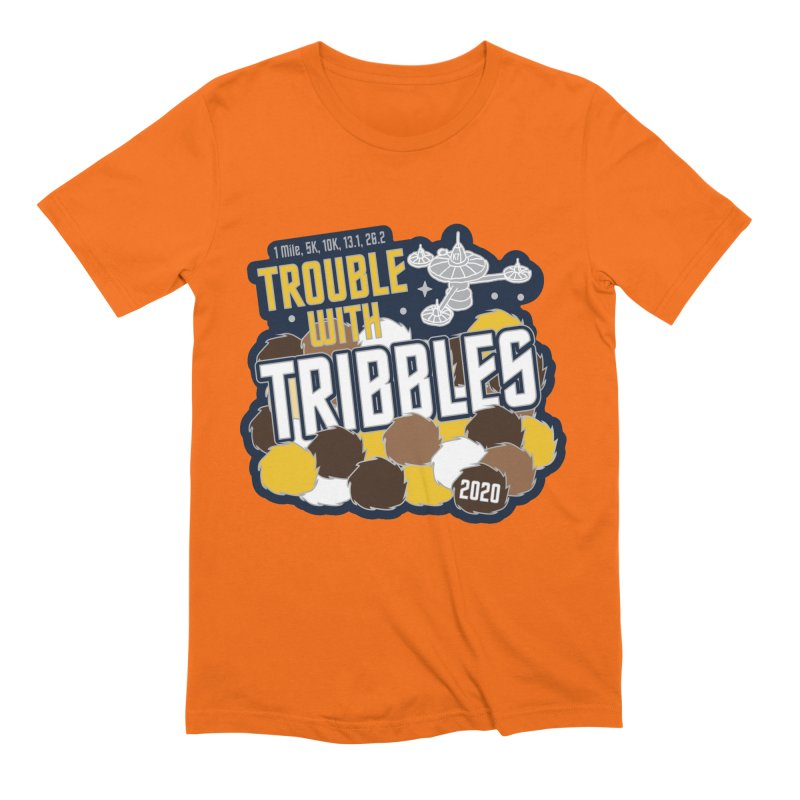 Trouble with Tribbles Men's Extra Soft T-Shirt by Moon Joggers's Artist Shop