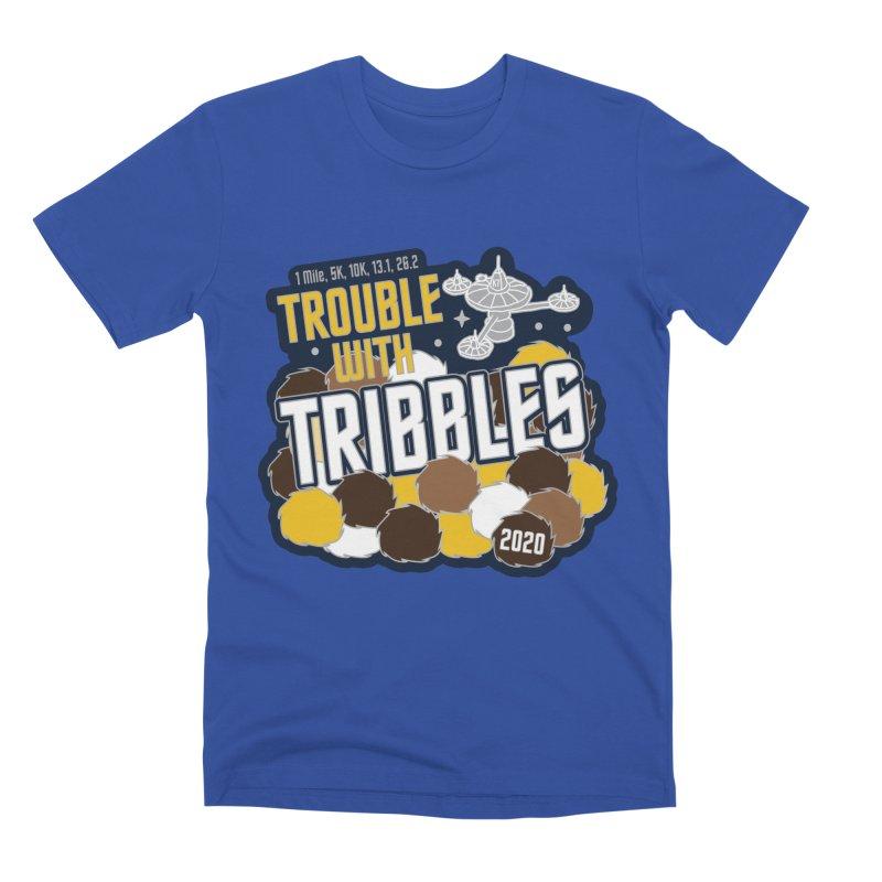 Trouble with Tribbles Men's Premium T-Shirt by Moon Joggers's Artist Shop