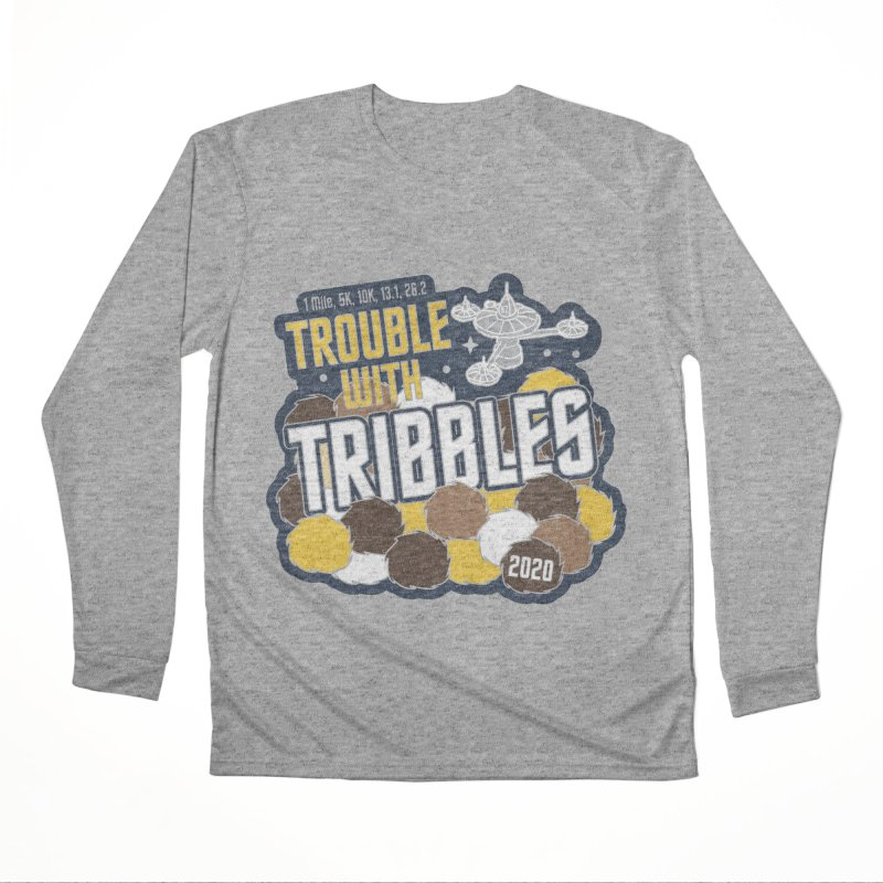 Trouble with Tribbles Men's Performance Longsleeve T-Shirt by Moon Joggers's Artist Shop