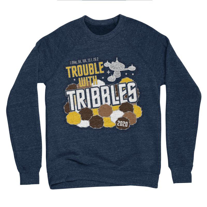Trouble with Tribbles Women's Sponge Fleece Sweatshirt by Moon Joggers's Artist Shop