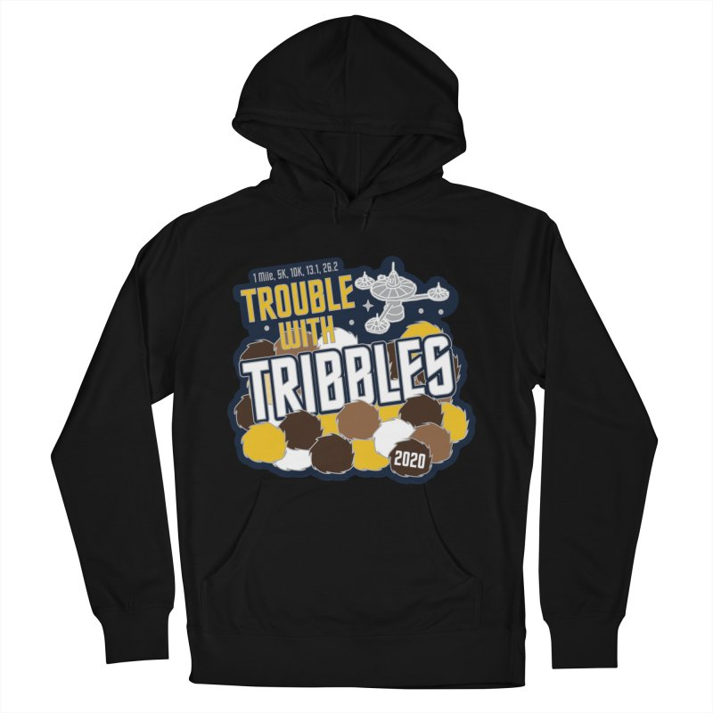 Trouble with Tribbles Men's French Terry Pullover Hoody by Moon Joggers's Artist Shop