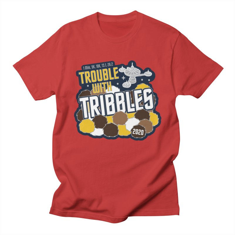 Trouble with Tribbles Men's Regular T-Shirt by Moon Joggers's Artist Shop