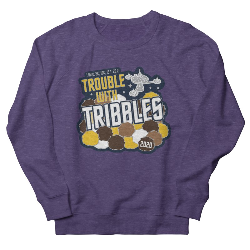 Trouble with Tribbles Men's French Terry Sweatshirt by Moon Joggers's Artist Shop