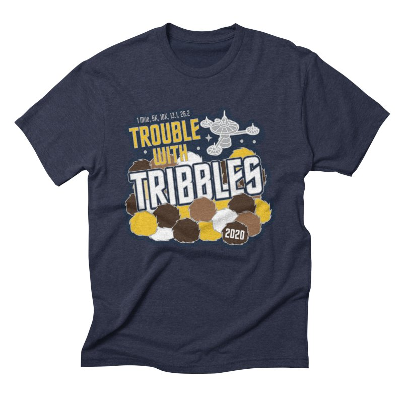 Trouble with Tribbles Men's Triblend T-Shirt by Moon Joggers's Artist Shop