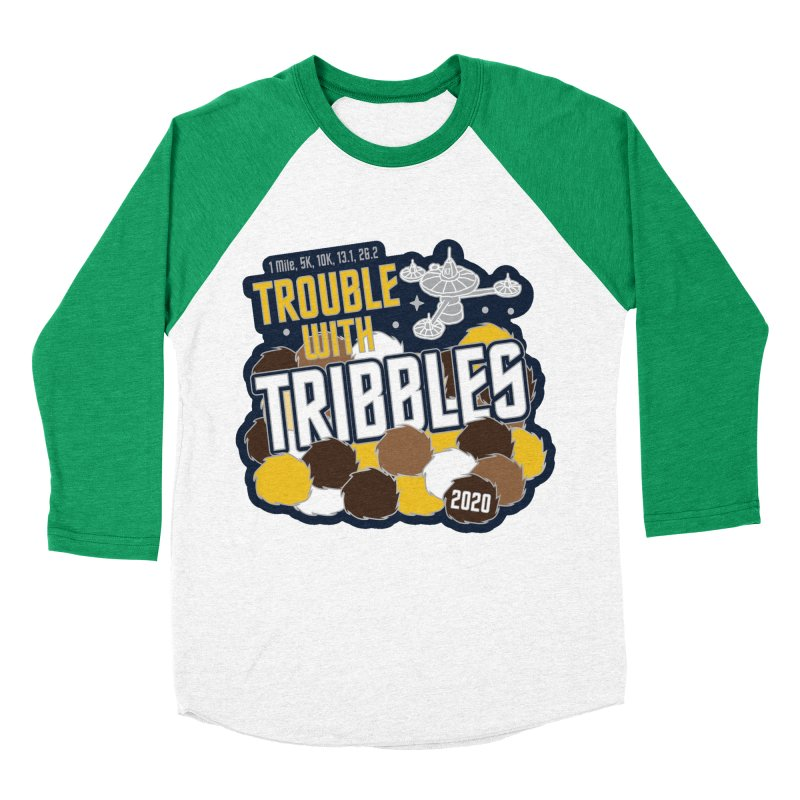 Trouble with Tribbles Women's Baseball Triblend Longsleeve T-Shirt by Moon Joggers's Artist Shop